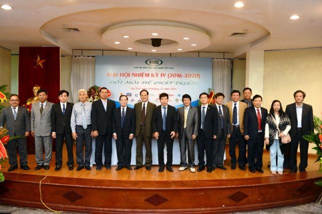 Danh sách Ban chấp hành Hiệp hội các nhà thầu Việt Nam (VACC) nhiệm kỳ IV (2016-2020)
