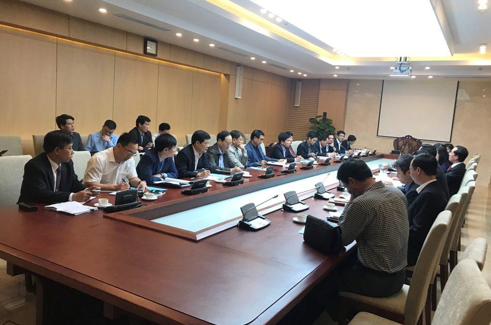 Bộ trưởng Bộ xây dựng làm việc với Hiệp hội các nhà thầu xây dựng Việt Nam