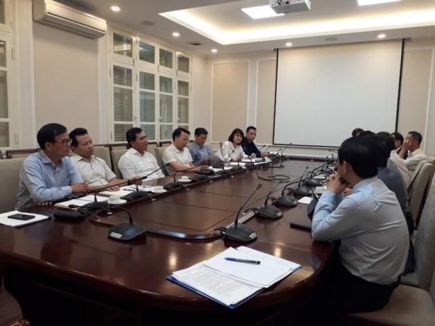 """Hiệp hội các nhà thầu xây dựng Việt Nam(VACC) làm việc với Bộ xây dựng về Chương trình xét chọn danh hiệu """"Nhà thầu xây dựng uy tín Việt Nam lần thứ nhất"""""""