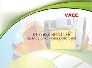 Danh mục văn bản về quản lý chất lượng công trình xây dựng