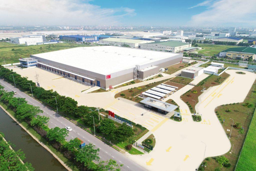 FM Logistic Bắc Ninh là một nhà xưởng khác tại Việt Nam ứng dụng giải pháp thép và vật liệu tôn chất lượng cao của BlueScope